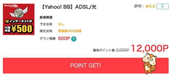 Yahoo! BB ADSLと光