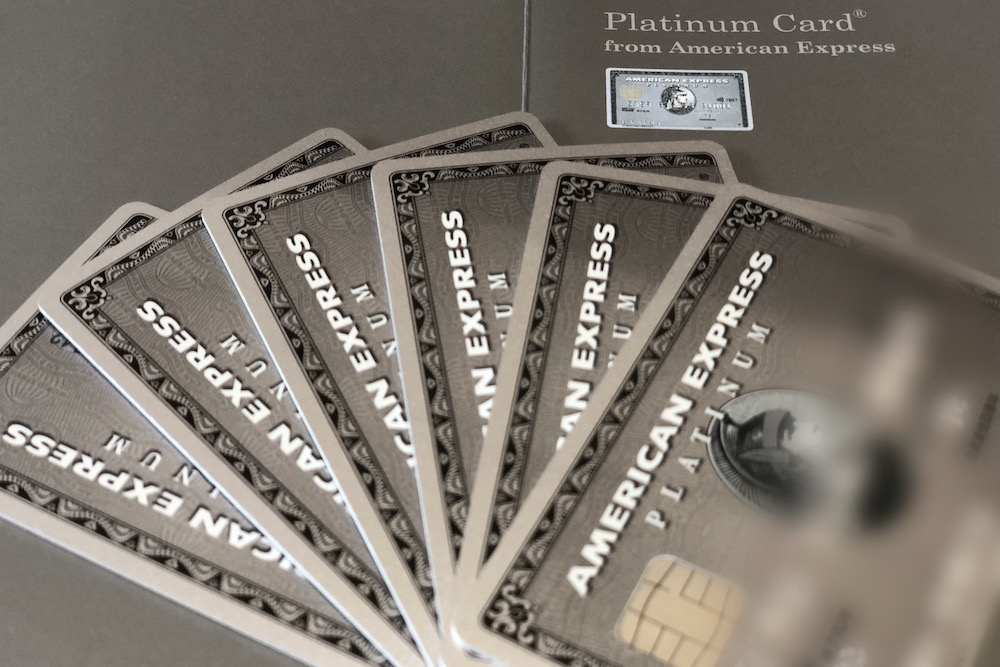 アメックスプラチナ本カードと家族カード