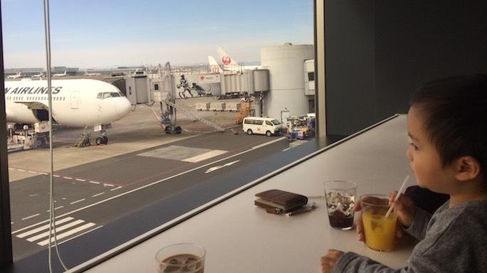 SPGアメックスで利用できる羽田空港のパワーラウンジ