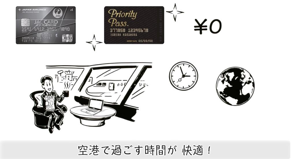 JALプラチナカードの付帯サービスプライオリティパス