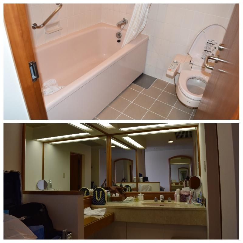 ルネッサンス沖縄のトイレ・洗面台・お風呂
