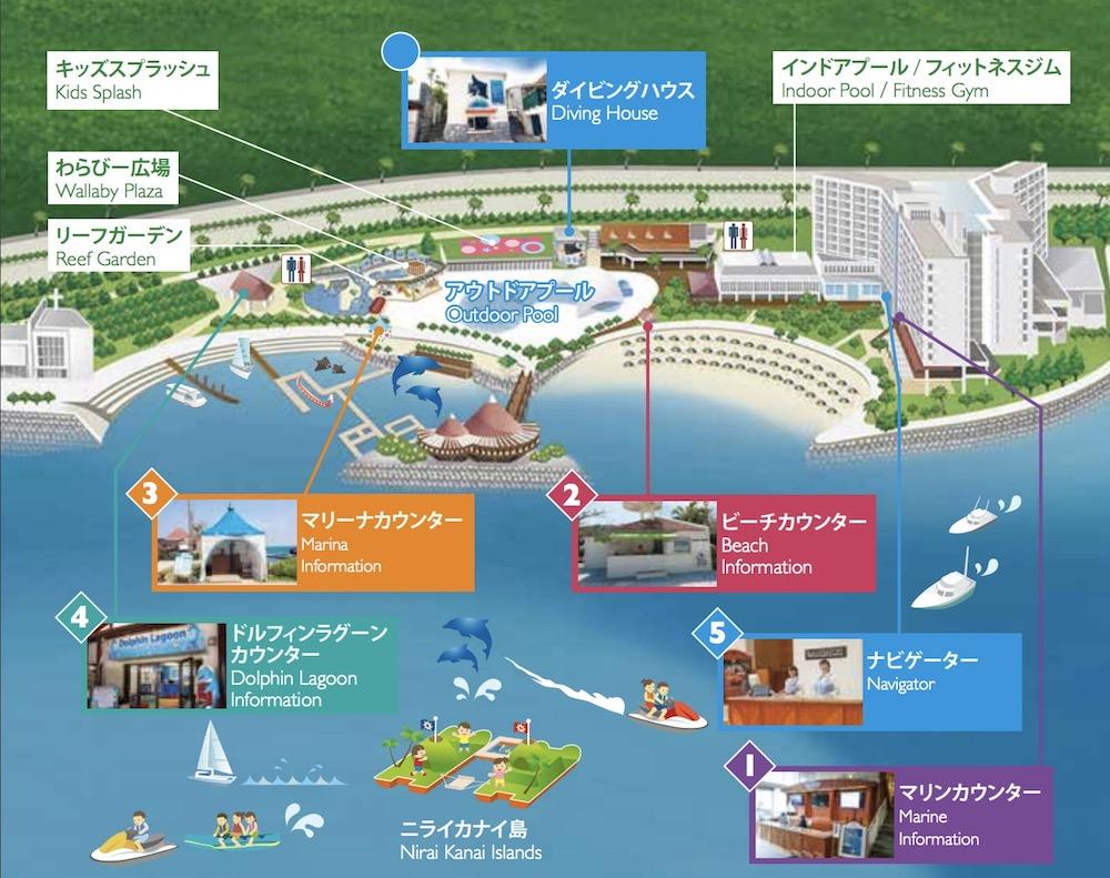 ルネッサンス 沖縄のマップ