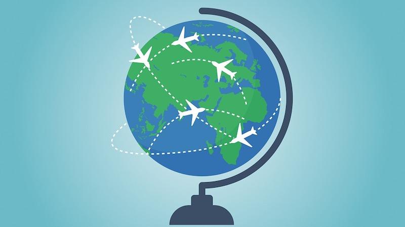 マイル特典航空券で世界一周