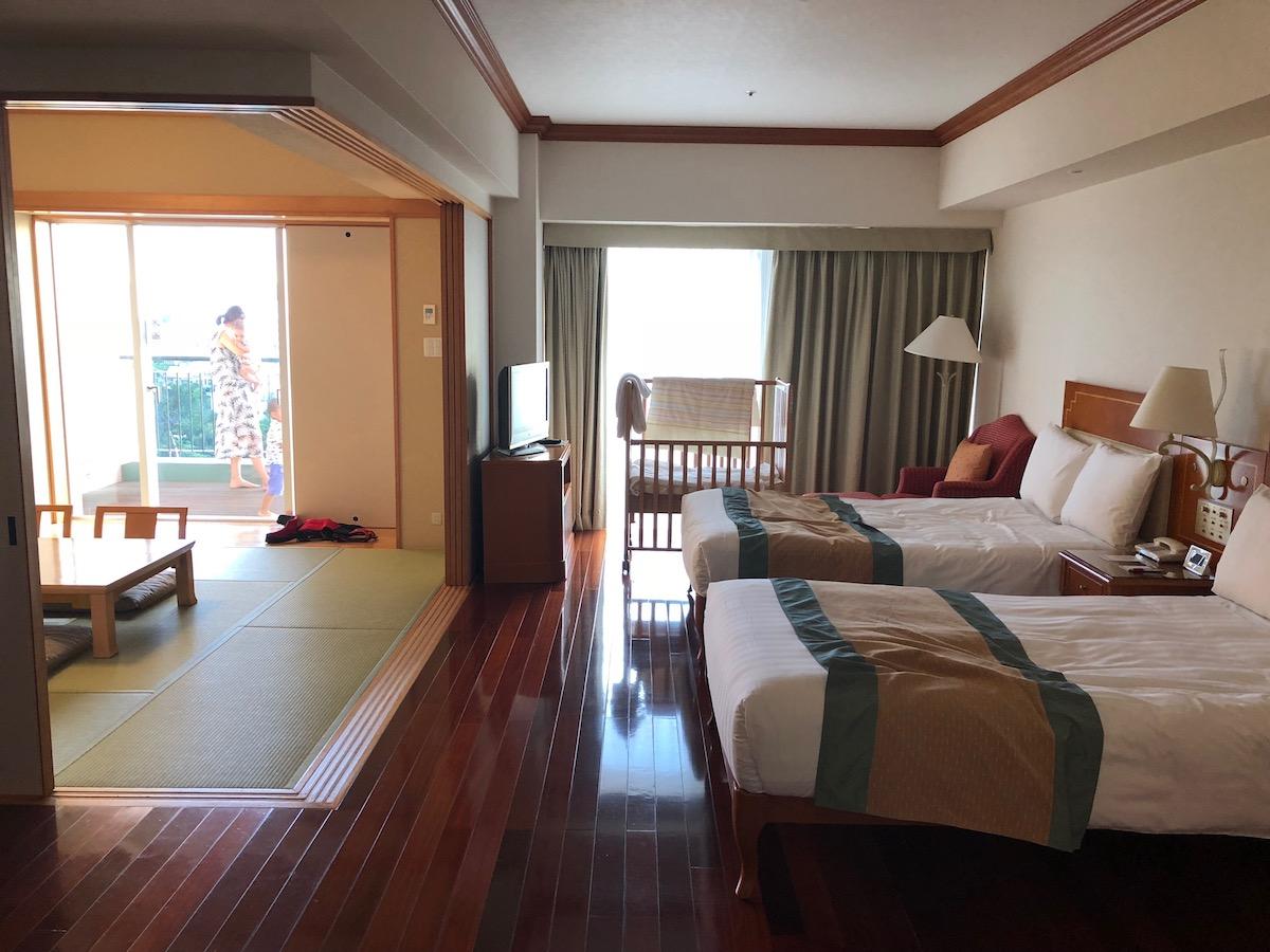 マリオット沖縄のファミリールーム
