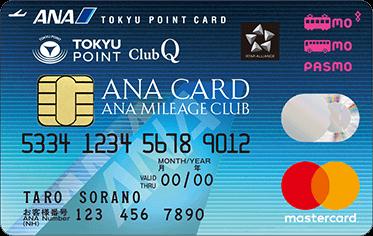 ANA TOKYUカードのカードフェイス