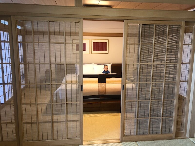 ルネッサンス沖縄の琉球スイート寝室