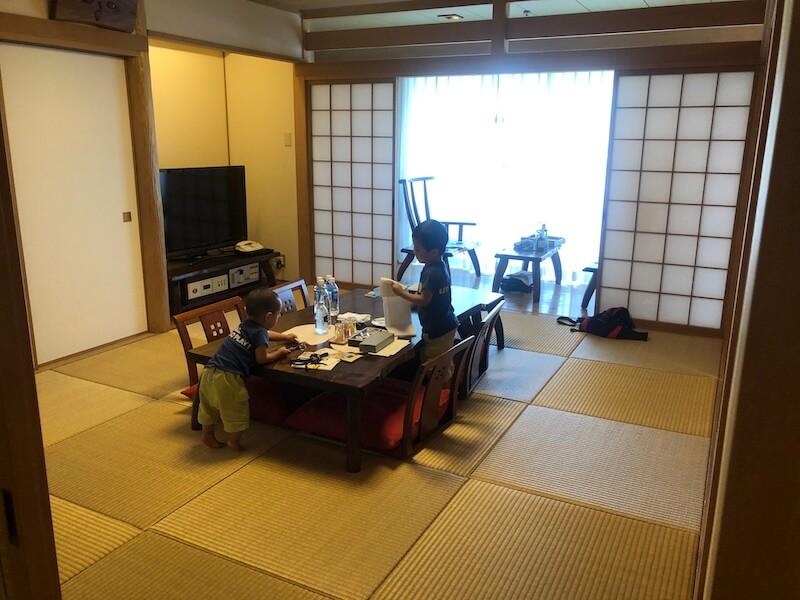 ルネッサンス沖縄の琉球スイートの部屋