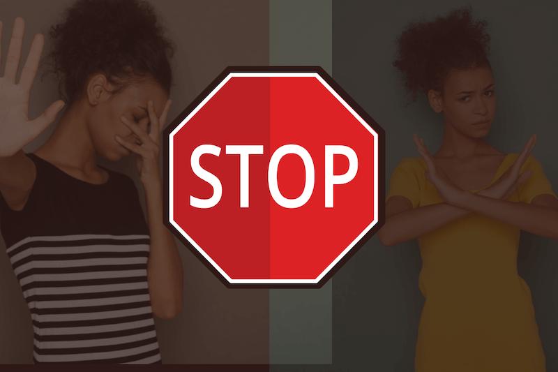 ストップ/stop