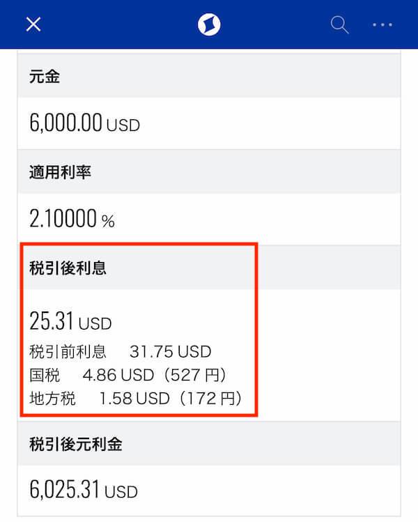 住信sbiネット銀行の外貨定期預金