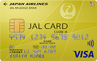 JALカードclub-aのロゴ