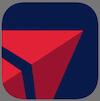デルタ航空のロゴ