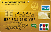 JALカードclub-a-goldSuicaのロゴ