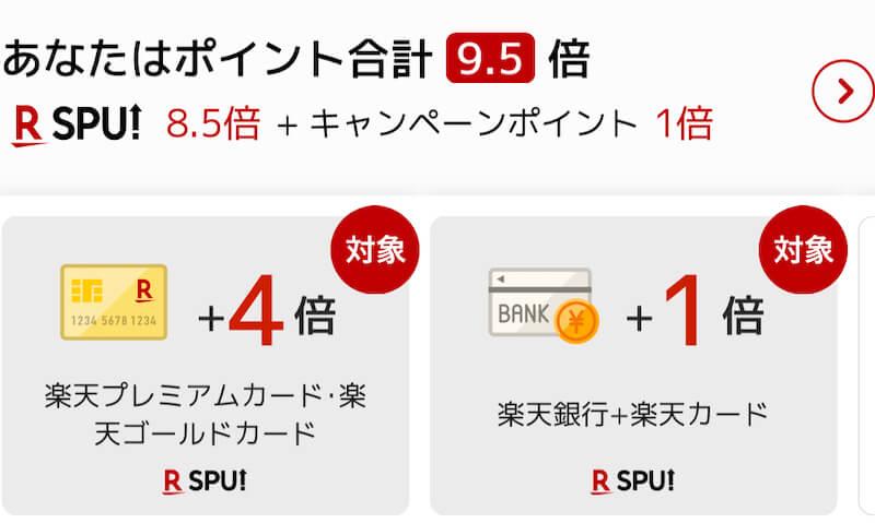 SPU9.5倍