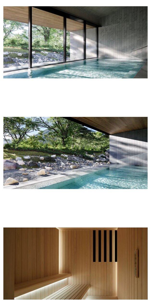 リッツカールトン日光温泉施設