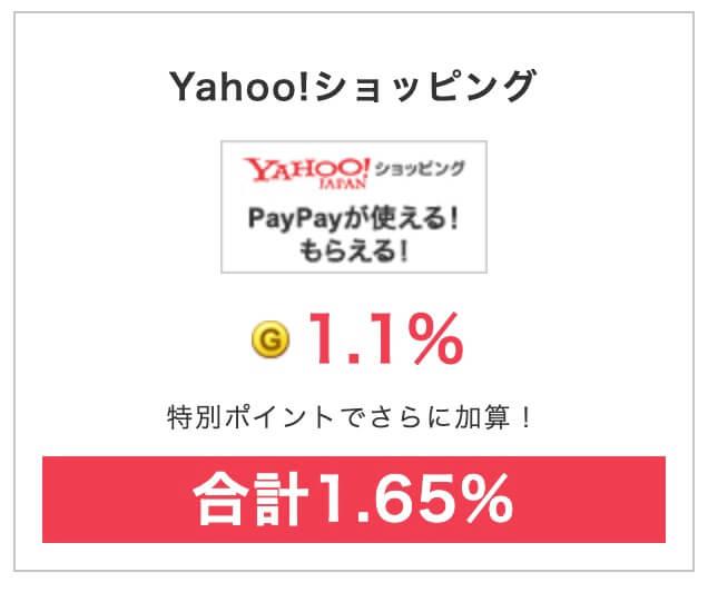 げっとまポイントサイトNO1Yahoo!ショッピング&PayPayモール